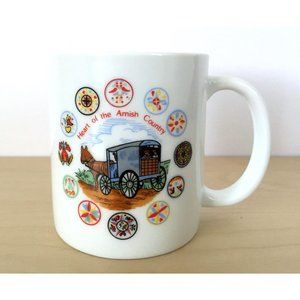 Heart of the Amish Country Coffee Tea Mug Cup